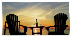 Summer In The River Beach Towel