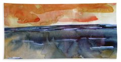Beach Sheet featuring the painting Summer Light by Michael Helfen