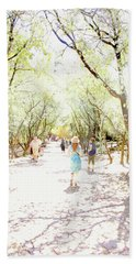 Beach Towel featuring the photograph Summer Light Provence by Rasma Bertz