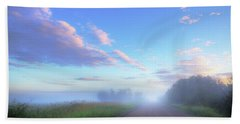 Beach Sheet featuring the photograph Summer Morning In Alberta by Dan Jurak