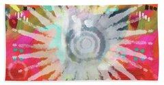 Summer Of Love- Art By Linda Woods Beach Towel