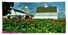 Summer On An Amish Farm Beach Towel