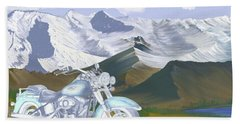 Summer Ride Beach Towel by Terry Frederick