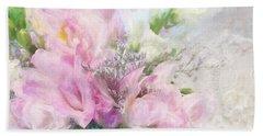 Summer Roses Beach Sheet
