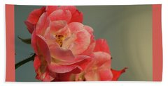 Beach Sheet featuring the photograph Summer Roses by Margie Avellino