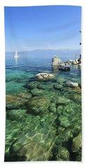 Summer Sail Portrait Beach Towel