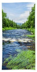 Summer Scene Rangeley Maine  -70742 Beach Sheet