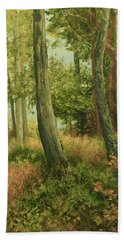 Summer, Sidney Spit Beach Towel