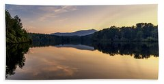 Price Lake Sunset - Blue Ridge Parkway Beach Sheet