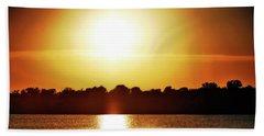 Summer Solstice Beach Sheet