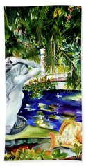Summer Splendor Beach Towel