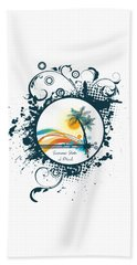 Summer State Of Mind Beach Towel