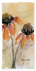 Summer Sunflowers Beach Sheet