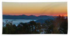 Beach Towel featuring the photograph Summer Sunrise - Almost Dawn by D K Wall