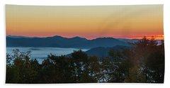 Summer Sunrise - Almost Dawn Beach Sheet