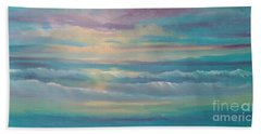 Summer Time Beach Towel by Holly Martinson