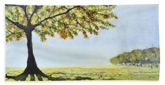 Summer Trees Beach Towel