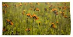 Summer Wildflowers Beach Towel by Diane Diederich