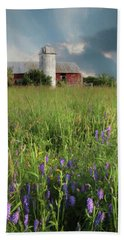 Summer Wildflowers Beach Towel by Lori Deiter