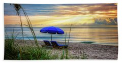 Beach Sheet featuring the photograph Summer's Calling by Debra and Dave Vanderlaan