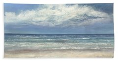 Summer's Day Beach Sheet by Valerie Travers