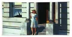 Summertime  Beach Towel by Edward Hopper