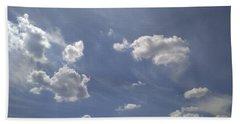 Summertime Sky Expanse Beach Towel