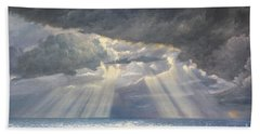 Storm Subsides Beach Towel