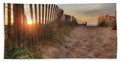 Sun And Sand Beach Towel by Lori Deiter