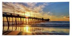 Sun And Shadows Beach Sheet