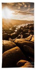 Sun Bleached Australia Beach Beach Towel