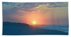 Beach Towel featuring the photograph Sun Glare by  Newwwman