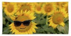 Sun-glasses Beach Sheet