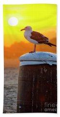 Sun Gull Beach Towel