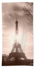 Sun In Paris Beach Towel