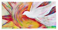 Healing Wings Beach Towel