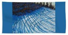 Sun Of Winter Shadows Beach Towel