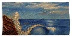 Sun Over The Ocean Beach Towel