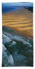 Sun Rise Coast  Beach Towel by Skip Hunt