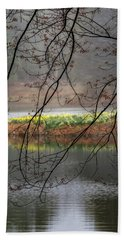 Beach Towel featuring the photograph Sun Shower by Bill Wakeley
