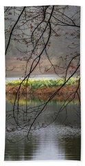Beach Sheet featuring the photograph Sun Shower by Bill Wakeley