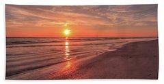Sunburst At Sunset Beach Sheet