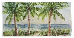 Sunburst Beach Morning Beach Towel