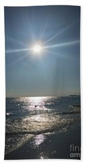 Sunburst Reflection Beach Towel
