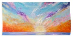 Sunburst Beach Towel
