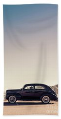 Beach Towel featuring the photograph Sunday Drive To The Beach by Edward Fielding