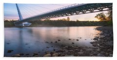 Sundial Bridge 7 Beach Towel