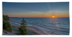 Sundown At Beaver Creek Beach Sheet