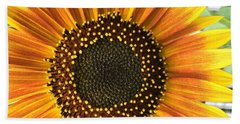 Sunflower 1 Beach Towel