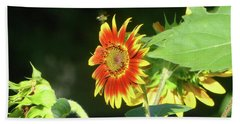 Sunflower 2016 4 Of 5 Beach Towel by Tina M Wenger